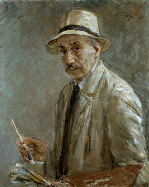 Portrait of Max Liebermann