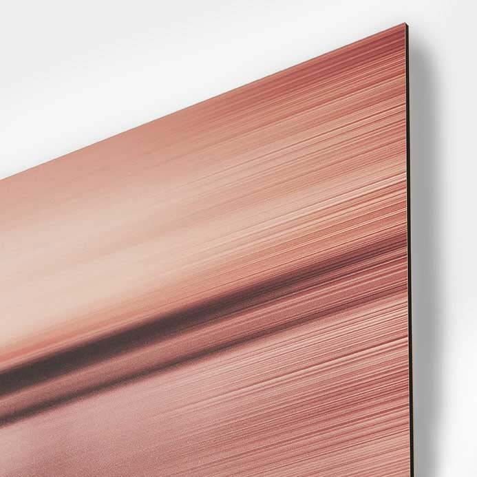 Prints on aluminum boards, Dibond�