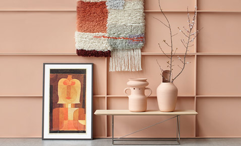 The latest trend in furnishing: pastel for your home