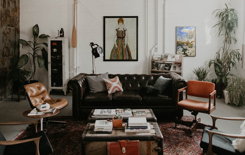 Art in living style maximalism