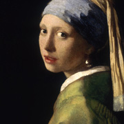 Jan Vermeer van Delft - The girl with the pearl