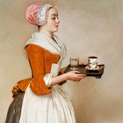The chocolate girl by Liotard
