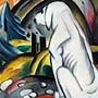 Franz Marc - The White Dog