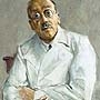 Max Liebermann - Portrait of surgeon Prof. Ferdinand Sauerbruch