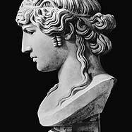 Roman - Bust of Antinous (c.110-30) called 'Antinous Mondragone'