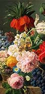 Jan Frans van Dael - Fowers and fruits