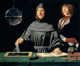de Barbari, Jacopo : Portrait of Luca Pacioli (...