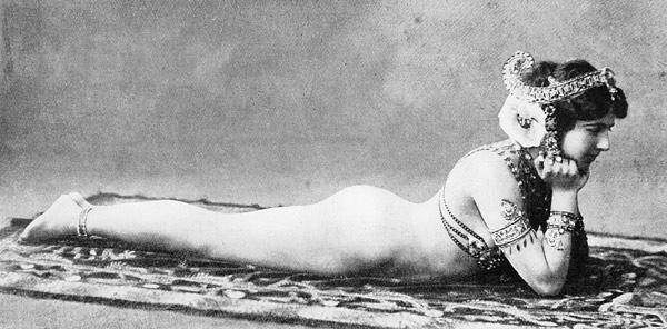 Mata Hari, c.1905 (b/w photo)