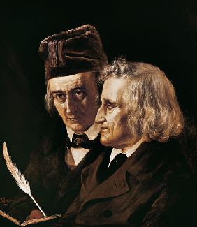 Jacob and Wilhelm Grimm , Jerichau