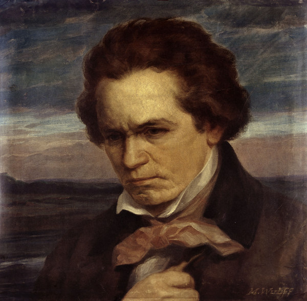 Beethoven Wulff As Art Print Or Hand Painted Oil