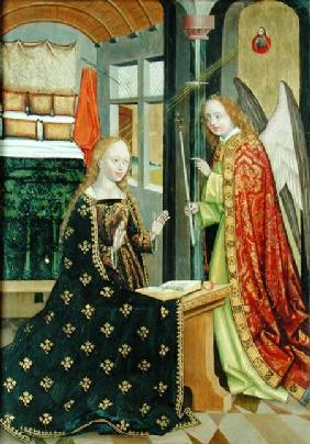 Annunciation, from the Dome Altar