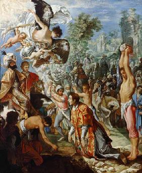 Stoning of the sacred Stephanus