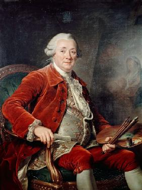 Portrait of Charles-Amédée-Philippe van Loo