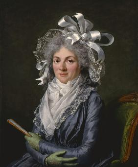 Portrait of Madame de Genlis (1746-1830)