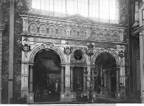 Portico of the Silversmith Pavilion at the Universal Exhibition, Paris