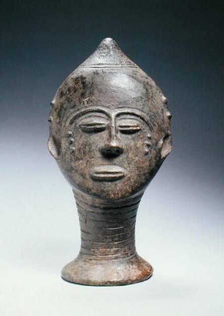Memory Head Akan Culture Ghana African As Art Print Or