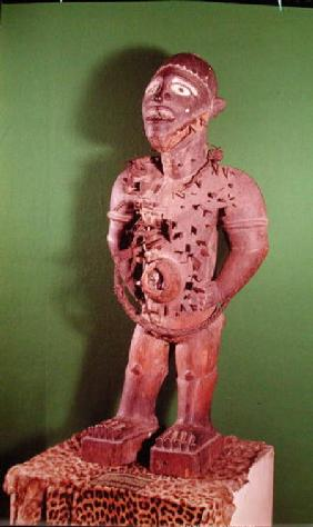 Fetish figure with nails, Bakongo Population