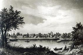 Valdivia, from ''The History of Chile''; engraved by H. Wander-Burch