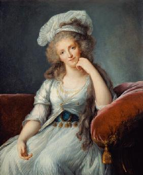 Vigee-Lebrun, (after) Elisabeth Louise : Louise-Marie Adelaide, Duc...