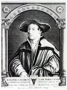 Hans Holbein the Younger; engraved by Bartholomaus Huebner
