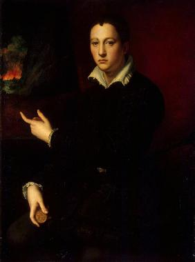 Portrait of Grand Duke of Tuscany Cosimo I de' Medici (1519-1574)