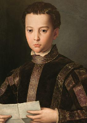 Portrait of Francesco I de' Medici (1541-87) as a Young Boy