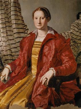 A.Bronzino, Portrait of a woman