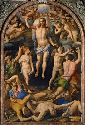 A.Bronzino / Resurrection of Christ /C16