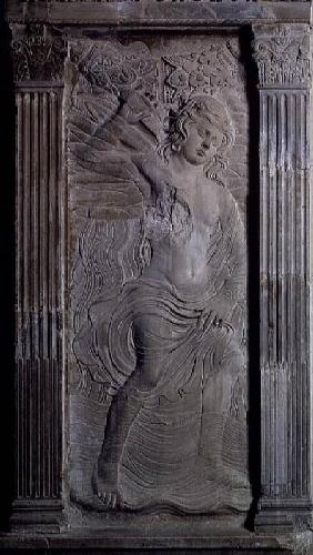 Aquarius, relief from the Chapel of the Planets