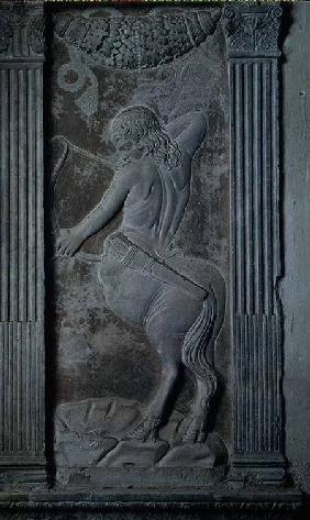 Sagittarius, relief from the Chapel of the Planets