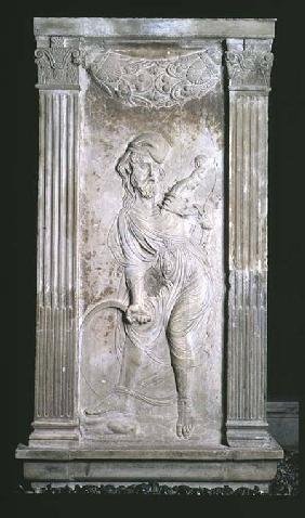 Saturn, relief from the Chapel of the Planets
