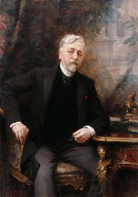 Portrait of Gustave Eiffel (1832-1923)