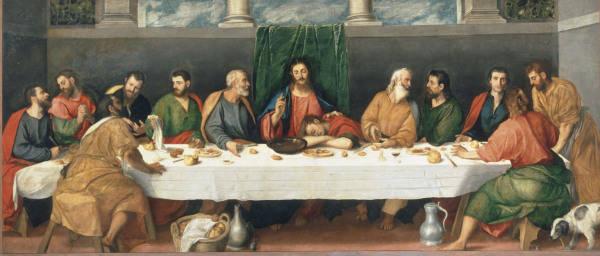 Bonifazio Veronese Last Supper Ptg Artist Artist As