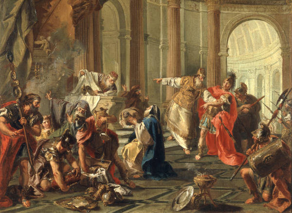 Crassus Plunders Temple G B Pittoni Artist Artist As