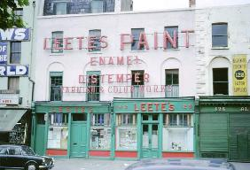 Leete''s Paint Works, Southwark, 1966 (colour photo)