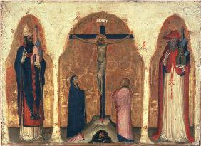 Christ on the Cross / Alberegno / C14th