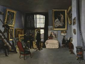 Bazille, Fr�d�ric : Frederic Bazille/ L''ateli...