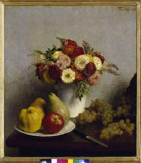 Fantin-Latour / Flowers and fruits/ 1865