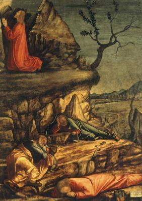V.Carpaccio /Christ at Mt.of Olives/ Ptg