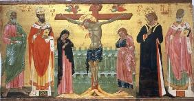 Crucifixion / Venet.Paint./ C14th