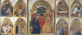 Coronation of Mary / Venetian Paint./C14
