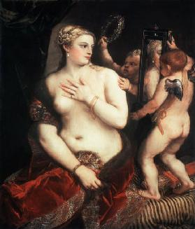 Titian / Venus with a Mirror / c. 1555