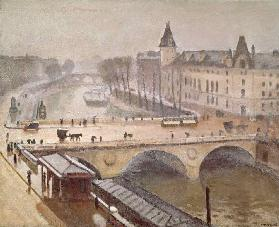 The Palais de Justice and the Pont au Change, Paris