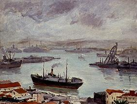 The port of Algiers