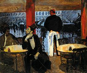 Parisian restaurant.