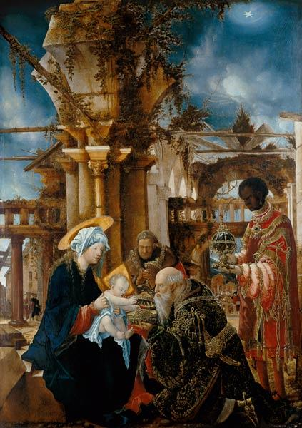 Altdorfer, Albrecht : The adoration of the kings