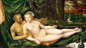 Altdorfer, Albrecht : Lot and his daughter, 1537