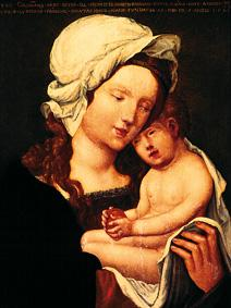 Altdorfer, Albrecht : Maria with the child.