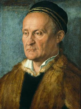Portrait of Jakob Muffel (1471-1526)