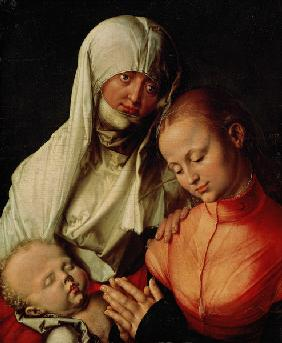 Saint Anne,the Virgin and the infant Jes